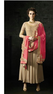 Plain Suit & Heavy Dupatta
